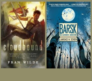 Cloudbound and Barsk covers